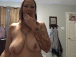 Hot wife Angie Michelle comes home to fuck her Big Daddy