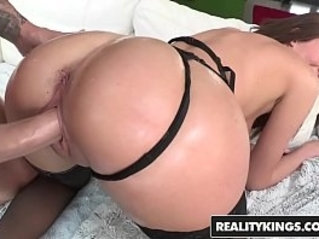 Vivie Delmonico wants a big dick and a thumb in her ass Reality Kings