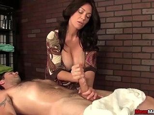 Sexy big titted lady cock treatment