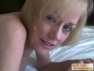 Nasty horny granny gets fucked by young dude