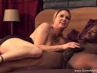 White Wife Tries Interracial Cheating