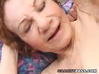 Very Old Granny Gets her pussy Destroyed