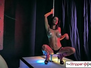 The Stripper Experience Jessica Jaymes Silvia Saige fucking a big dick