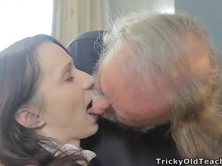 Grandpa Rough With Teen