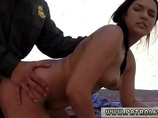 Police woman fucked for the first time sweet dark haired paisley parker was
