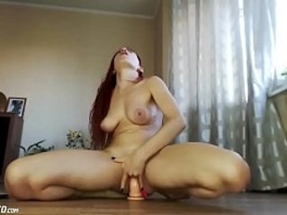 Young college Teen Camgirl Squirts On Floor