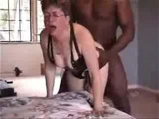 Mature wife used by black bull